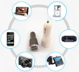 High Quality Universal 5V 2.1A+1A Dual 2 USB Car Chargers pictures & photos