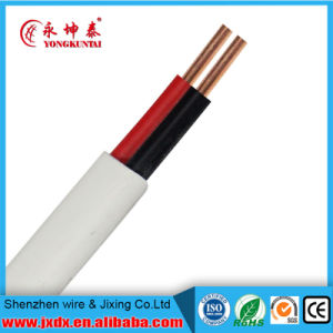 PVC Insulated&Sheathed Copper Wire Flexible Flat Electrical/Electric Cable pictures & photos