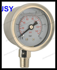40mm Stainless Steel Oil Pressure Gauge pictures & photos