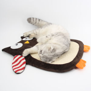 Cat Scratch Pad Grinding Claw Pad Funny Cat Toys Pet Bed for Cats Mat/Litter/Bed Sisal Rope Pet Supplies pictures & photos