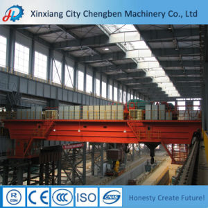 Low Price Heavy Duty Electric Double Lifting Beam Crane pictures & photos