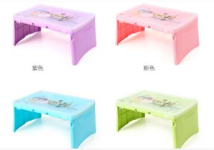2017 New Product Plastic Fold Plastic Computer Desk pictures & photos