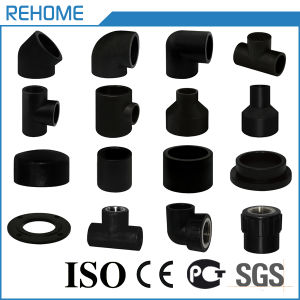 Manufacter Pn10 110mm HDPE Pipe and Fitting for Water Supply pictures & photos