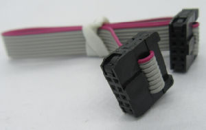 IDC 8way 2mm Pitch Pinrex Bump with Strain Relief, Ribbon Cable 1mm Pitch pictures & photos