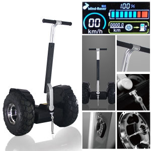 China Latest Two Wheel Electric Balance Chariot Car pictures & photos