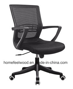 Low Back Mesh Office Swivel Computer Staff Chair (HF-M70B) pictures & photos