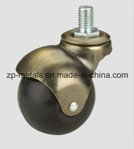 1.5inch Rubber/PVC Screw Ball Caster Whe pictures & photos