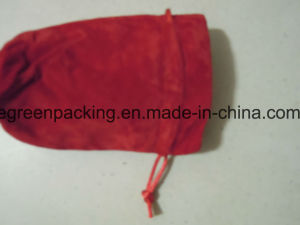 Customized Flannelette with Satin Inside Jewelry Pouch/Bag pictures & photos