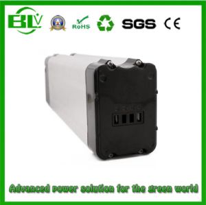 Silver Fish Case of 48V13ah Ebike Battery with Deep Recharge Cycle Li-ion Battery Cell in China Real Shenzhen Battery Factory pictures & photos