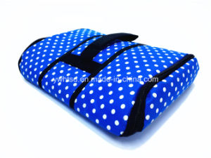 Wave Point Pattern 600d with PEVA Handle Flat Coolerbag pictures & photos