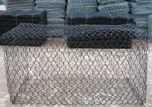 Gabion Box Basket / Gabion Mesh / PVC Coated Galfan Gabion pictures & photos