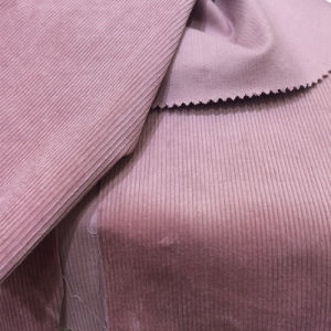 Cotton Spandex 14 Wales Thicken Corduory Fabric pictures & photos