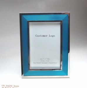 Blue Enemal Color Silver Plated 4X6 Photo Frame pictures & photos