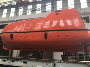 Totally Enclosed/Free Fall Life Boat/Rescue Boat with Platform Davit pictures & photos