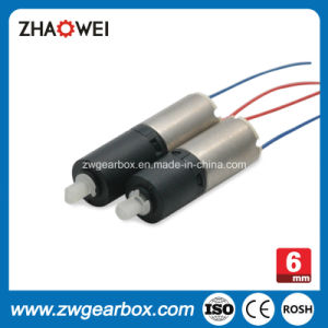 6mm 3V Low Power Small Gearbox Motor pictures & photos