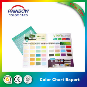 Paper Printing Wall Paint Color Card Catalog for Advertising pictures & photos