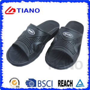 Whole Black with Sport Logo EVA Slipper for Men (TNK35627) pictures & photos