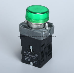 IP40 Illuminated Type Pushbutton Switch pictures & photos