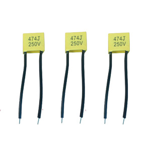 Soft Wire Lead 0.22UF MKP X2 Capacitor 275V for AC Circuits pictures & photos