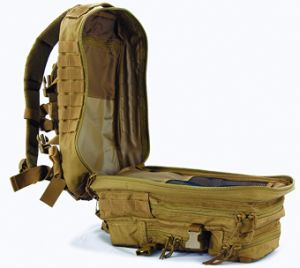 High Quality 600d Polyester Large Assault Pack Military Tacktical Backpack pictures & photos