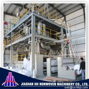 Fine Best China 3.2m Double S PP Spunbond Nonwoven Fabric Machine pictures & photos