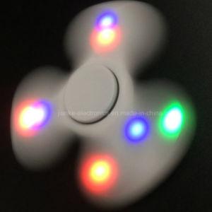 2017 Hot Sale LED Light Hand Finger Fidget Spinner (6000B) pictures & photos
