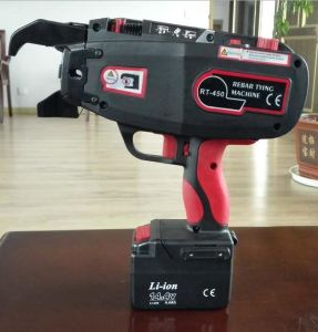 Li-ion Battery Operated Construction Hand Tools Tr450 Automatic Rebar Tying Power Tools pictures & photos