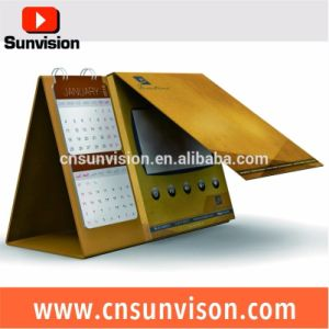 Advertising Player Digital LCD Calendar Planner Video Card pictures & photos