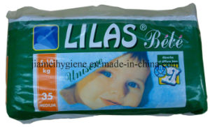 Low Price Africa Baby Diaper with Good Absorbency with Tape pictures & photos