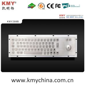 Hot Sale Waterproof Industrial Metal Keyboard Supplier (KMY299B) pictures & photos