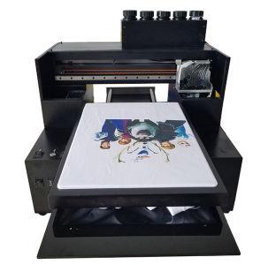 A3 UV Flatbed Printer for T-Shirt Garments Printing Automatic UV Printers