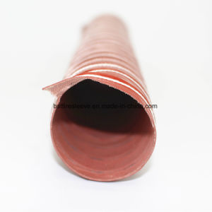 High Temperature Orange Flexible Silicone Ventilation Duct pictures & photos