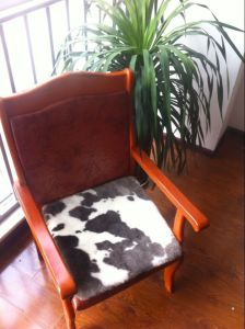 High Quality Sheepskin Chair Seat Pad