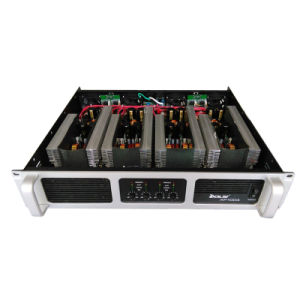 Black Four Channel Switching Mode Power Supply Power Amplifier pictures & photos