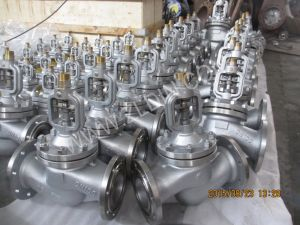 DIN Std. Wj41h GS-C25 Wcb Bellows Seal Globe Valve Made in Wenzhou for Natural Gas pictures & photos
