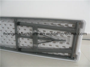 6FT Hotslae Plastic Folding Bench for Outdoor Use From China Manufacture pictures & photos