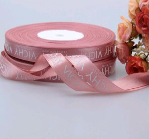 Custom Logo Designs Printed Satin Ribbon pictures & photos