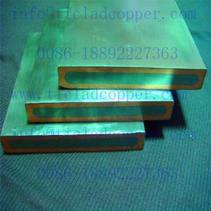 Nickle Clad Copper Conductive Bus Bar Anode for Printed Circuit Board/Electrolyzing pictures & photos