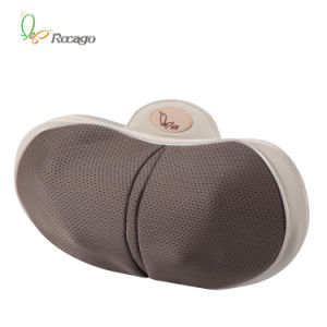 Car and Home Mini Leisure Heating Massage Pillow with Massage Head pictures & photos