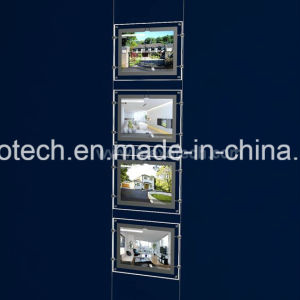 LED Light Pocket - Ultrabright Estate Agent Window Displays pictures & photos