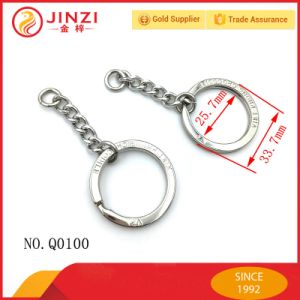 Metal Key Ring with Logo or Empty Surface pictures & photos