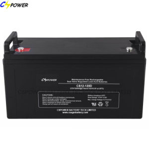 12V120ah Lead Acid Battery Deep Cycle Solar Battery pictures & photos