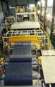 Automatic Production Line Vehicle Carpet Roof Whell Arch Trunk Interior pictures & photos