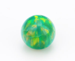China Wholesale Ball Shape Synthetic Opal pictures & photos