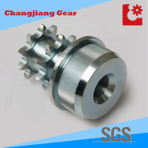 Standard Stainless Steel Duplex Sprocket with Shaft pictures & photos