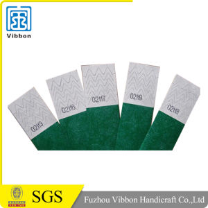Widely Use Custom Design Medical Tyvek Wristbands pictures & photos