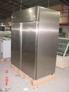 Upright Freezer, Inox Inside, Negative Temp-Gn1410btm pictures & photos