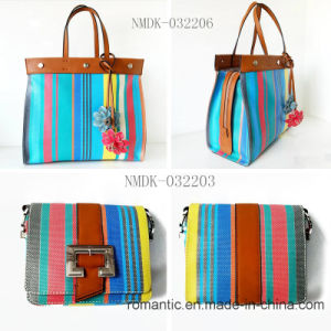 Popular Fashion Colorful PU Leather Ladies Handbags (NMDK-032203) pictures & photos