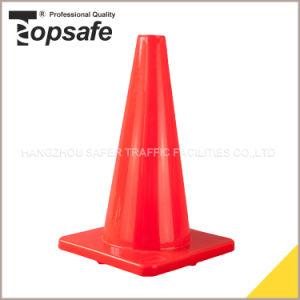 Bright Fluorescent Orange PVC Cone (S-1231) pictures & photos