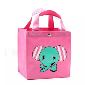 Lovely Polyester Lunch Tote Picnic Bag for Kids pictures & photos